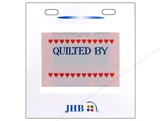 JHB Quilter's Label Quilted By.....