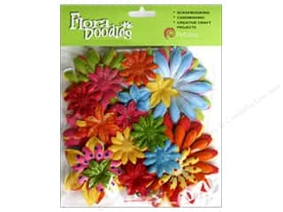 Petaloo FloraDoodles Daisy Layers Lg Glit Brites