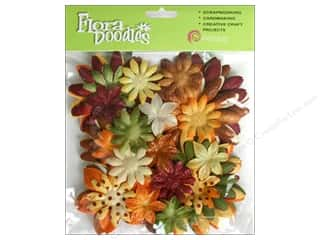 Petaloo FloraDoodles Daisy Layers Lg Glit Earth