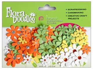 Petaloo FloraDoodles Jeweled Florettes Citronella