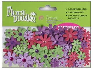 Flowers / Blossoms Winter Wonderland: Petaloo FloraDoodles Jeweled Florettes Fairy Wonderland
