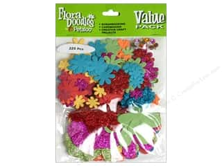 Petaloo FloraDoodles Paper N Glitter Brites