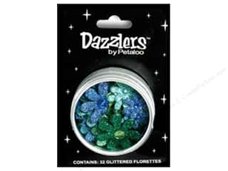 Petaloo Dazzlers Flower Tin Small Go Green