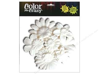 Petaloo Color Me Flower Layers White 120pc