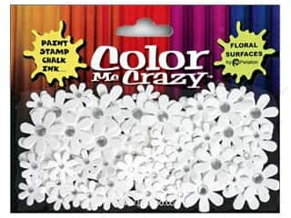 Flowers / Blossoms Petaloo Color Me Crazy: Petaloo Color Me Florettes Jeweled Crystal White