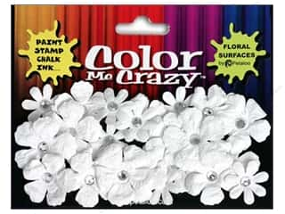 Petaloo Color Me Flower Gypsies Crystal White