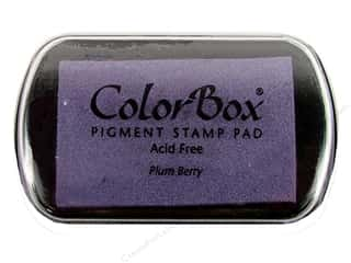 ColorBox Pigment Ink Pad Full Size Plum Berry