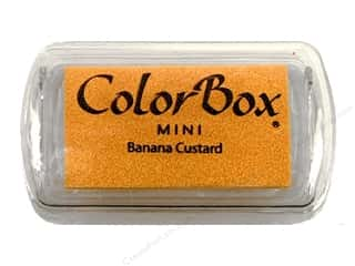 ColorBox Pigment Ink Pad Mini Banana Custard
