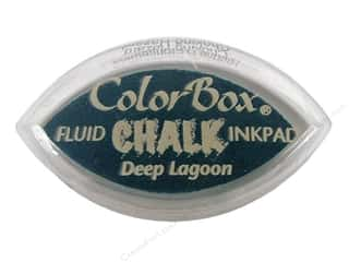 ColorBox Fluid Chalk Ink Pad Cat&#39;s Eye Deep Lagoon