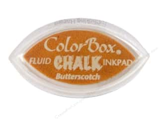 Clearance ColorBox Fluid Chalk Mini Ink Pad: ColorBox Fluid Chalk Ink Pad Cat's Eye Butterscotch