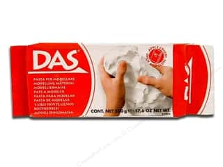 Clay & Modeling: DAS Air-Hardening Clay 1.1lb White