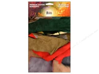 Appliques Craft & Hobbies: Leather Factory Premium Leather Pack 1 lb Assorted