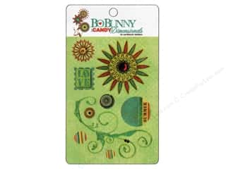 Bo Bunny Sticker Cardstock 3D ICandy Flower Child