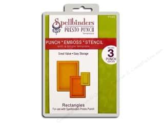 Spellbinders Presto Punch Template Rectangles