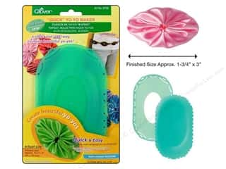 "Clover Quick Yo Yo Maker Oval Shape Large 1.75""x3"""
