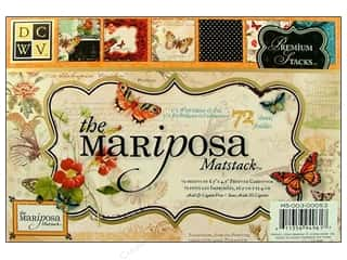 DieCuts Mat Stack 6 1/2 x 4 1/2 in. Mariposa