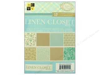 Curby's Closet Quilting Patterns: Die Cuts With A View 4 1/2 x 6 1/2 in. Cardstock Mat Stack Linen Closet Glitter