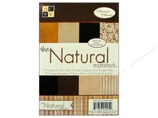 DieCuts Mat Stack 4 1/2 x 6 1/2 in. Natural Foil