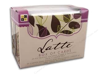 DieCuts Box of Cards A2 Latte 40pc
