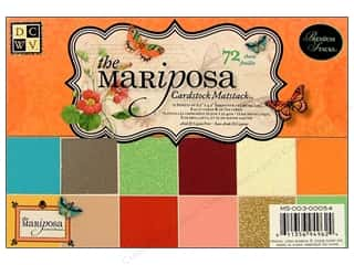 DieCuts Cardstock Stack 6.5x4.5 Mat Mariposa