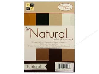 DieCuts Cardstock Mat Stack 4 1/2 x 6 1/2 in. Natural