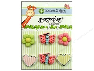 Buttons Galore BaZooples Sets Flutterbug Medley