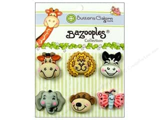 Buttons Galore & More Animals: Buttons Galore Button BaZooples Sets Gertrude & Friends