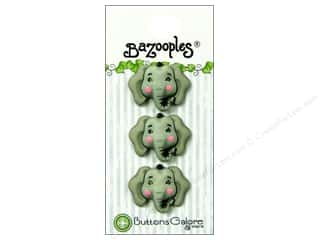 Buttons Galore BaZooples Elsie The Elephant 3pc