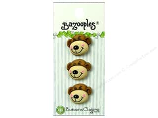 Buttons Galore BaZooples Max The Monkey 3pc