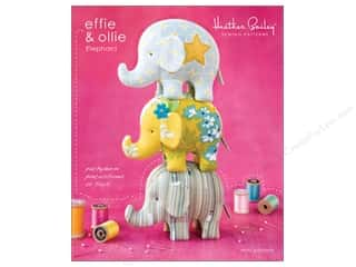 home decor pattern: Heather Bailey Effie & Ollie Elephant Pattern