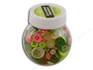 Buttons Galore Button Jar 5oz Killarney