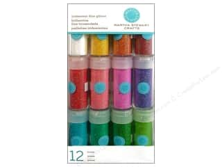 Martha Stewart Glitter Iridescent 12pk