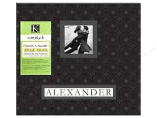 K&Co Scrapbook Album 12x12 Simply K Alexander FAN