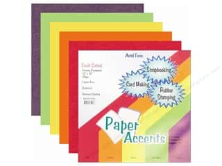 Oasis Cardstock Variety Pack by Paper Accents: Cardstock Variety Pack 12 x 12 in. Fruit Salad 20 pc. by Paper Accents