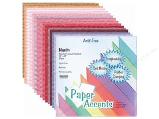 Cardstock Variety Pack 12 x 12 in. Asst. Muslin 20 pc.