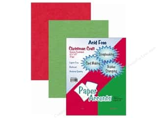 Clearance Blumenthal Favorite Findings: Cardstock Variety Pack 8 1/2 x 11 in. Christmas 25 pc.