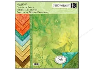 K&amp;Co Paper Pad 12x12 SW Nature Designer