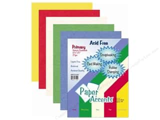 Celebration Cardstock: Cardstock Variety Pack 8 1/2 x 11 in. Primary 25 pc.