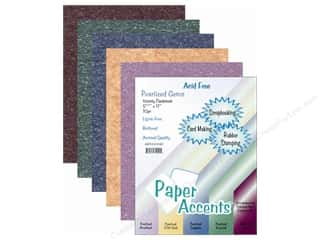 oak tag paper: Cardstock Variety Pack 8 1/2 x 11 in. Pearl Gem 10 pc.