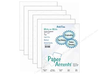 Sale Height: Cardstock Variety Pack 8 1/2 x 11 in. White 15 pc. by Paper Accents