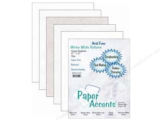 Winter Sale: Cardstock Variety Pack 8 1/2 x 11 in. Winter White Vellum 10 pc. by Paper Accents