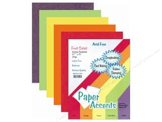 Cardstock Variety Pack 8 1/2 x 11 in. Fruit Salad 20 pc. by Paper Accents
