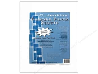 "C. Jenkins Freezer Paper Sheets 54 lb 12""x15"" 40pc"