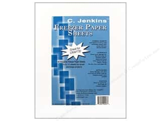Fabric 1 Sheet: C. Jenkins Freezer Paper Sheets 8 1/2 x 11 in. 50 pc.