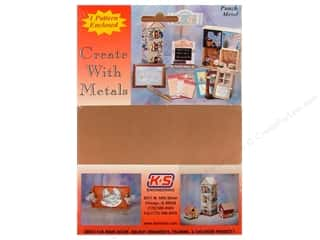 "Metal & Tin K&S Bendable Metal: K&S Punch Metal Copper Sheet 5""x 7"""
