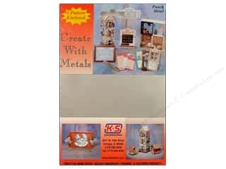 "Metal & Tin Kids Crafts: K&S Punch Metal Tin Sheet 5""x 7"""
