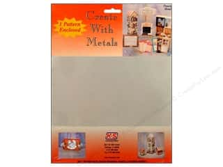 "Metal & Tin Kids Crafts: K&S Punch Metal Tin Sheet 8""x 10"""