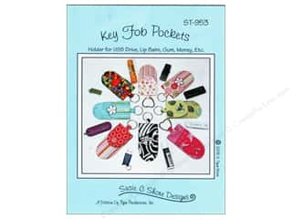 Susie C Shore Designs Food: Susie C Shore Key Fob Pockets Pattern