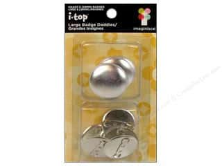 Imaginisce i-top Daddies Shell 28mm Badge 6pc