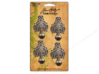 Tim Holtz $1 - $4: Tim Holtz Idea-ology Foundations Box Feet 4pc